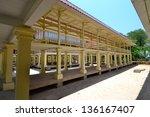 marukhathaiyawan  palace in cha ... | Shutterstock . vector #136167407