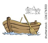 boat | Shutterstock .eps vector #136176503