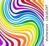 Vector Rainbow Lines