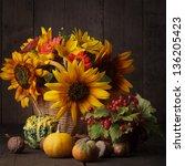 Still Life With Autumn Harvest...