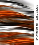 Abstract Tiger Fur Background...