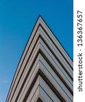 abstract modern building detail ... | Shutterstock . vector #136367657