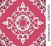 lacy pattern | Shutterstock .eps vector #136394543