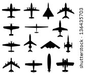 Set Of Different Planes