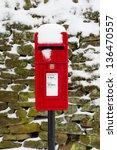 Winter Postbox