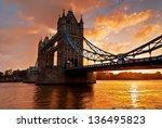 Tower Bridge Against Morning...