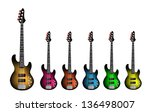 music instrument  an... | Shutterstock .eps vector #136498007