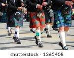 Scottish Marching Band At City...