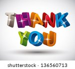 Thank You Lettering Made With...