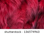Close Up Of Red Fur Background