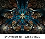 Dark And Colorful Fractal...