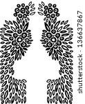 vector illustration of abstract ...   Shutterstock .eps vector #136637867