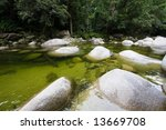 Green Water Of Mossman Gorge