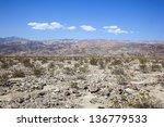 Harsh Desert And Landscape Of...