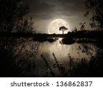 Big Moon Over The Wild Lake