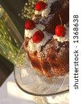 summer cherry cake | Shutterstock . vector #1368638