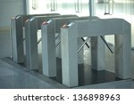 Small photo of Electronic access control system closeup