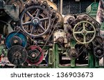 cogs and wheels | Shutterstock . vector #136903673