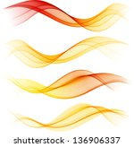 Abstract Color Wave Design...