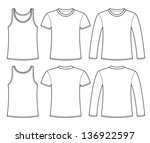 singlet  t shirt and long...