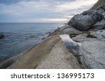 sea rock | Shutterstock . vector #136995173