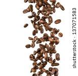 falling coffee beans | Shutterstock . vector #137071583