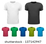 Set Of Colorful Male T Shirts....