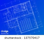 business conference room layout | Shutterstock .eps vector #137570417