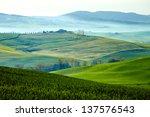 countryside  san quirico        ...   Shutterstock . vector #137576543