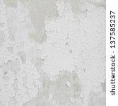 Damaged Plaster Concrete...