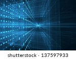 abstract futuristic background | Shutterstock . vector #137597933