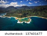 Aerial View Of Tunnels Beach...