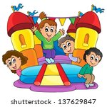 active,activity,art,artwork,bounce,bouncy,boy,cartoon,castle,child,childhood,clipart,design,draw,drawing