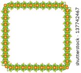 floral spring patterns  vector... | Shutterstock .eps vector #137742467