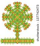 floral spring patterns  vector... | Shutterstock .eps vector #137742473