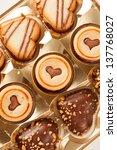heart cookies | Shutterstock . vector #137768027