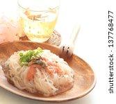 healthy food  shirataki pasta...