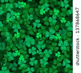 Seamless Clover Leaves...