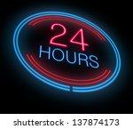 illustration depicting an... | Shutterstock . vector #137874173