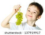 healthy eating concept with... | Shutterstock . vector #137919917