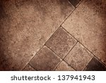 tiles on the floor | Shutterstock . vector #137941943