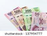 Mexican Pesos. An Image Showin...
