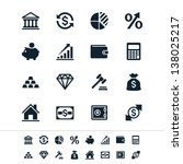 financial investment icons | Shutterstock .eps vector #138025217