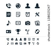 application icons | Shutterstock .eps vector #138025247