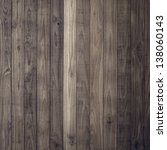 Dark Brown Wood Plank Wall...