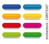 colorful long button | Shutterstock .eps vector #138073187