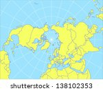 vector map of the nothern... | Shutterstock .eps vector #138102353