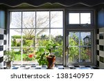 Pretty Kitchen Window With The...