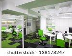 modern office interior | Shutterstock . vector #138178247