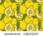 seamless with lemons   Shutterstock .eps vector #138252347